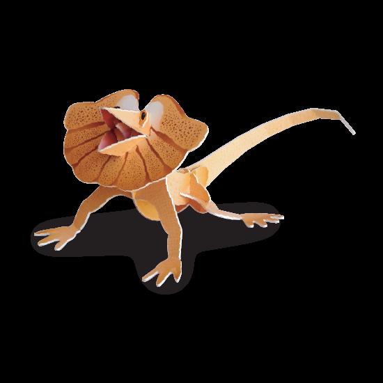 Frilled Neck Lizard Doodad