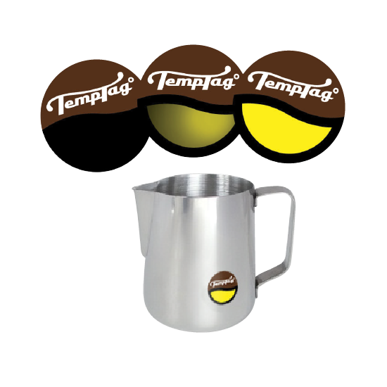Temptag' Coffee Milk Temerapture Indicator