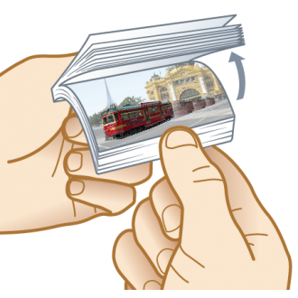 Travelling Tram Fun Aussie Flip Animated Note Pad