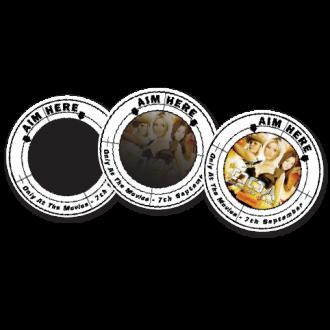 Heat Sensitive Urinal Stickers