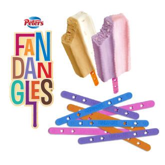 Fandangles' Ice Cream Sticks
