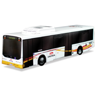 Cardboard Bus Replica