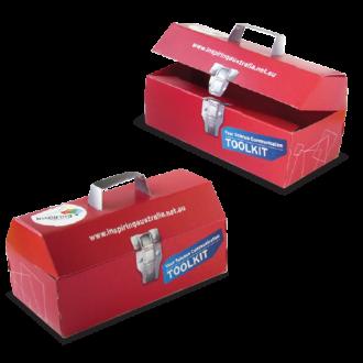 Custom Cardboard Toolbox